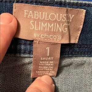 FABULOUSLY SLIMMING WOMENS JEANS by Chico's
